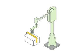 T-Arm床置きタイプ+クランプアタッチメント